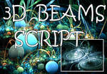 3D Beams Script by Shortgreenpigg