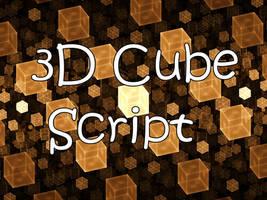 3D Cubes Script
