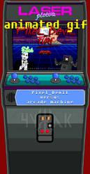Kung Fury parody Pixel_Devil versus arcade by popowermetal