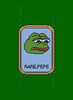 rare pepe Sad frog Logo Rareware 8bit pixel
