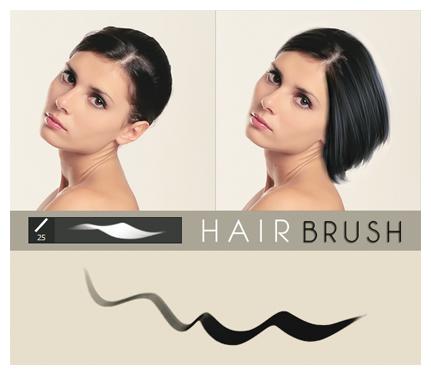 Hair Brush by MissMalefic