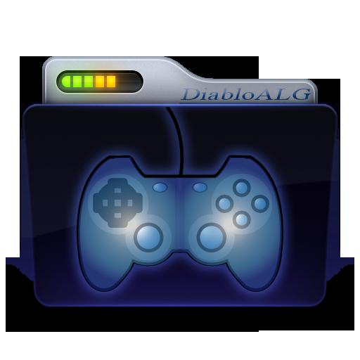 Games Folder Icon _ by DiabloALG by DiabloALG