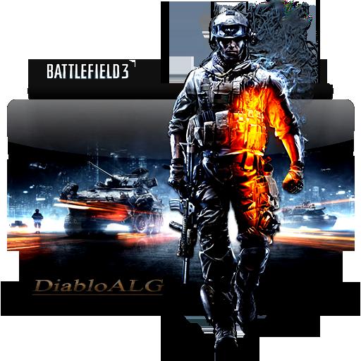 Battlefield 3 Folder Icon _ by DiabloALG by DiabloALG