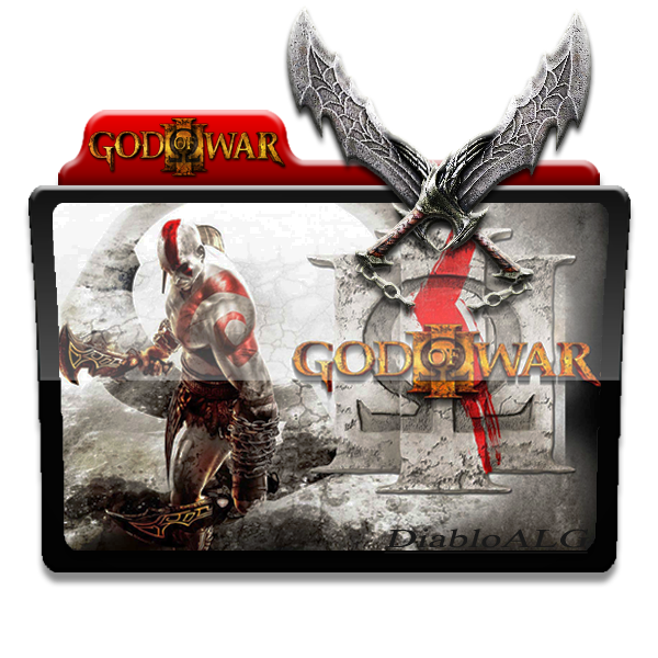 God Of War Folder Icon V2 _ by DiabloALG by DiabloALG