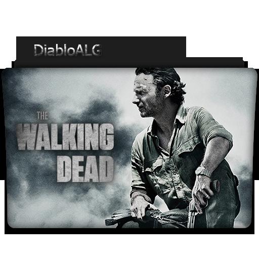 The Walking Dead Folder Icon _ by DiabloALG by DiabloALG