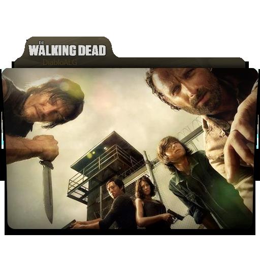 The Walking Dead Folder Icon V2 _ by DiabloALG by DiabloALG