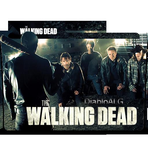 The Walking Dead Folder Icon V4 _ by DiabloALG by DiabloALG