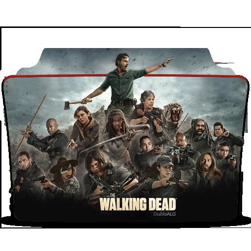 The Walking Dead Folder Icon V5 _ by DiabloALG by DiabloALG