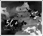 50+ paint / water color brush pack