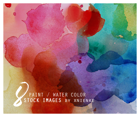 8 paint / water color stock images by xnienke