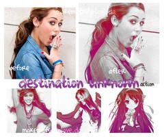 DESTINATION UNKNOWN ACTION by makemefeelinlove