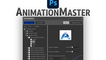 AnimationMaster Free Photoshop Plugin by ArtoriusGothicus