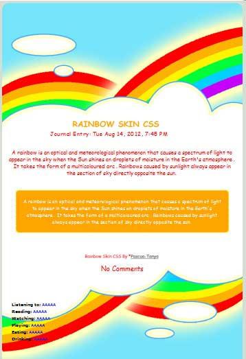 Rainbow Skin by Pascua-Tanya
