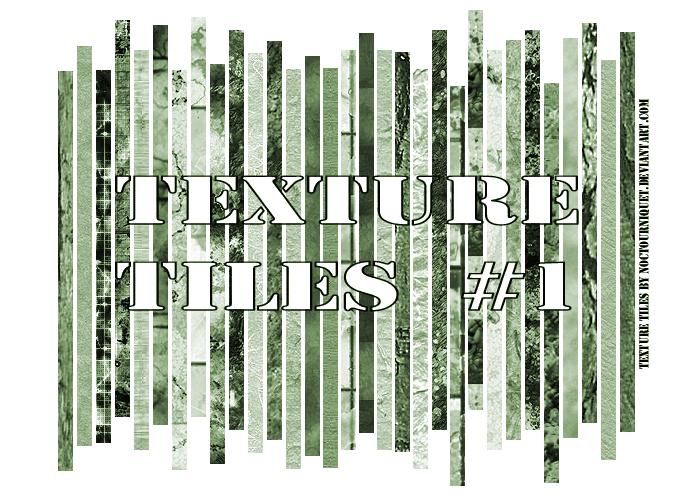 Texture Tiles no.1 by Noctourniquet
