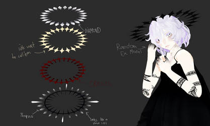 [ MMD ] Abnormal / shape / Weird Halo Pack DL by Mea-Scinta