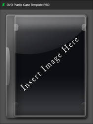 DVD Plastic Case Template PSD
