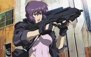 Motoko Kusanagi GITS:SAC 01 by GameBoxIcons