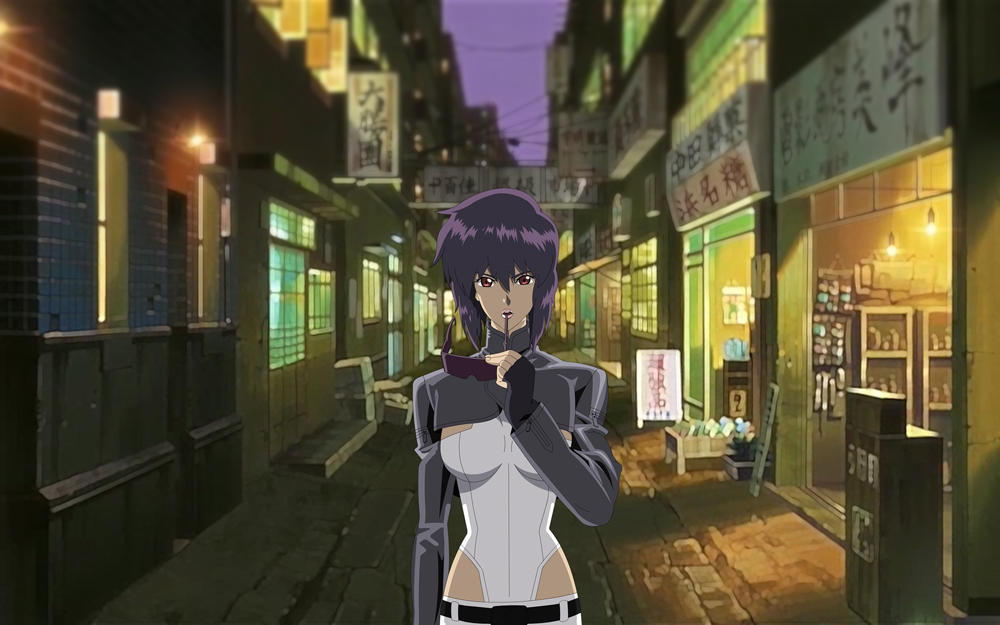 Motoko Kusanagi GITS:SAC 04 By GameBoxIcons On DeviantArt