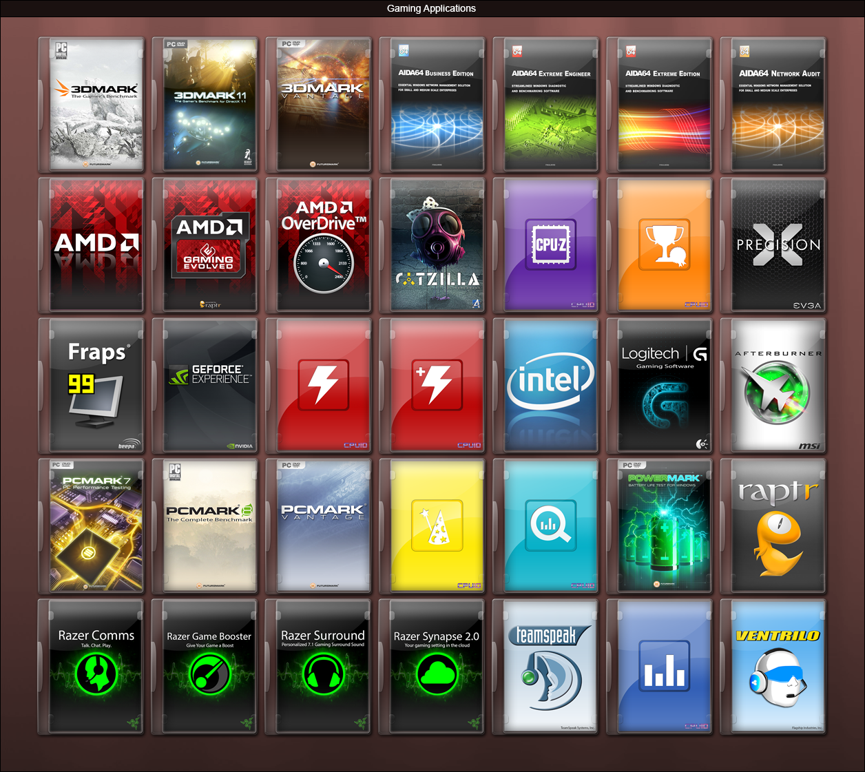 Evga Wallpaper: Gaming Applications By GameBoxIcons On DeviantArt