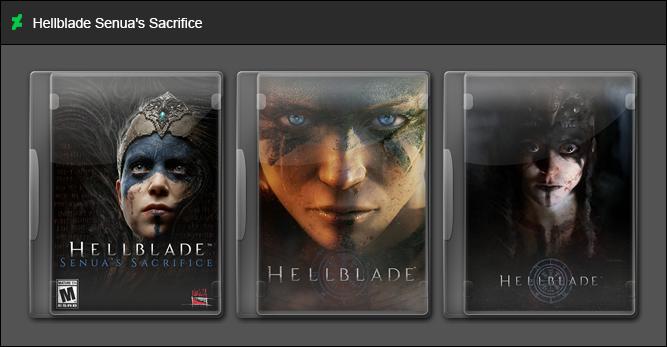 Hellblade Senua's Sacrifice by GameBoxIcons