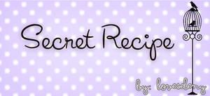 ' Font: Secret Recipe