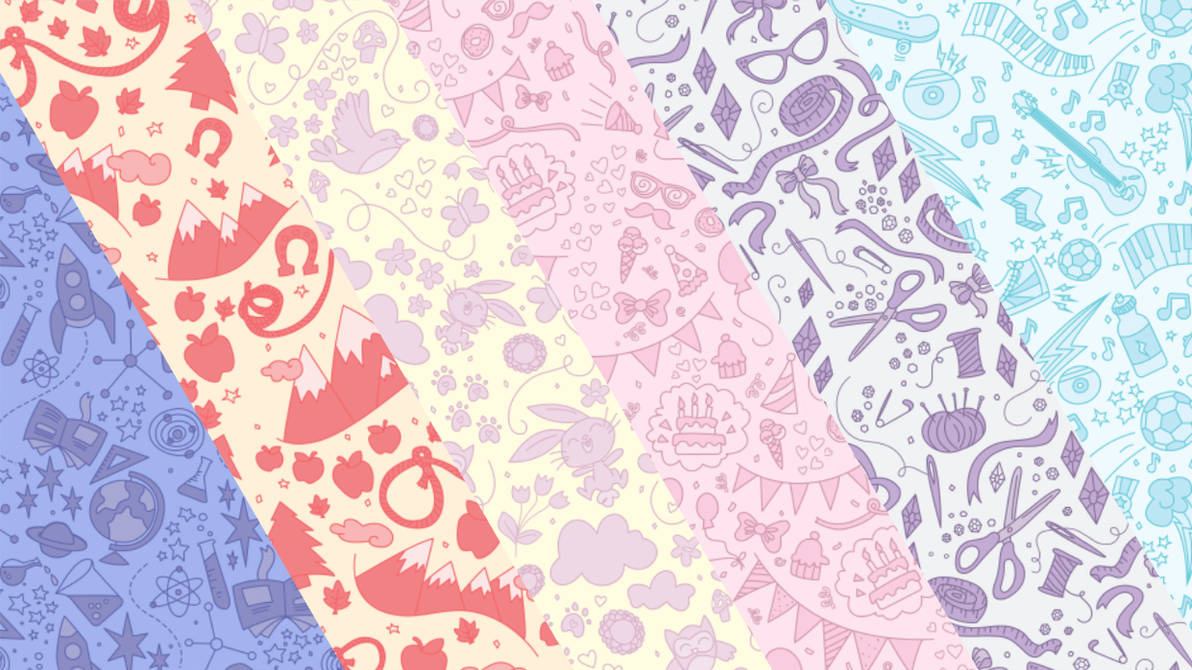 MLP EG patterns by TheSpectral-Wolf