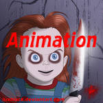Chucky's face animation