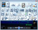 Windows Media Player 12 Icons
