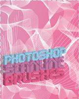 Photoshop Scanline Brushes by fatz18