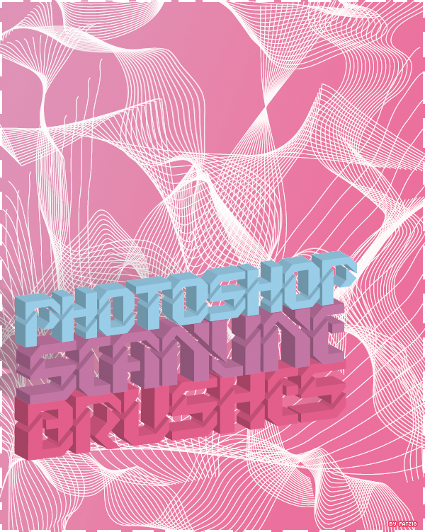 Photoshop Scanline Brushes by fatz18