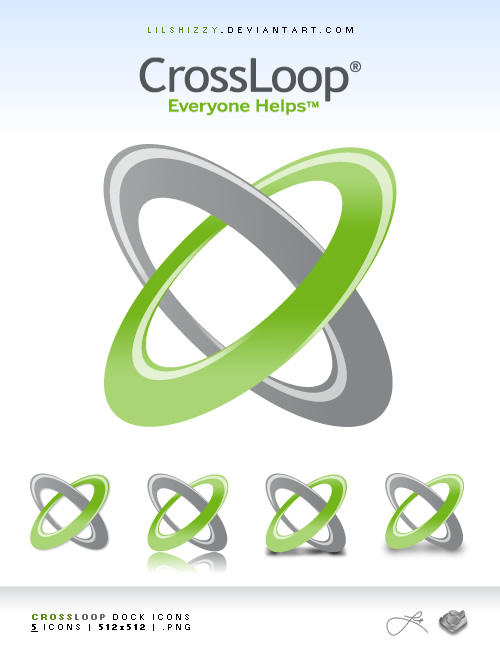 CrossLoop Dock Icons by lilshizzy