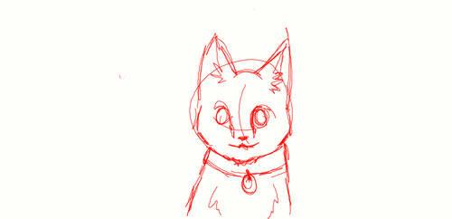Quick Cat Sketch