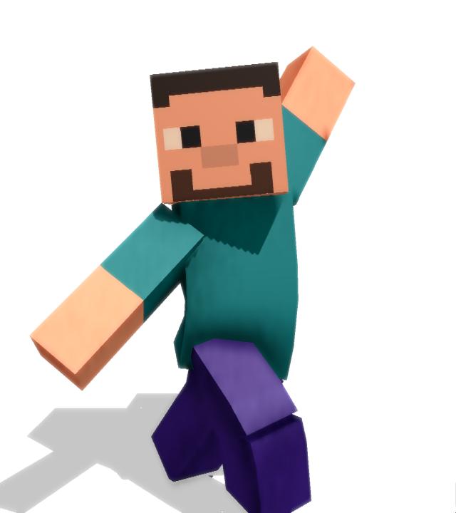 Minecraft model DL by Pamndora-MMD