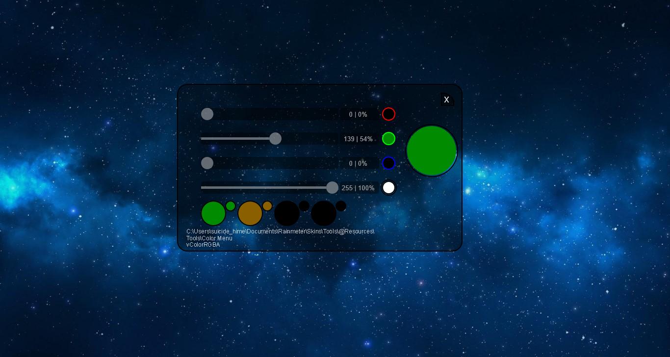 Color Menu Example Skin 1.0.0
