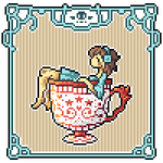 Animated Icon -- Angel in a Cup