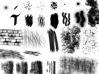Useful Gimp Brushes by Smilebags