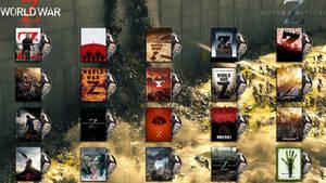World War Z Folder Icon Pack