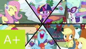 MLP FiM: Xmas Special: The Best Gift Ever Review by Cuddlepug