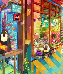 Pengu-Cafe by Milchiah