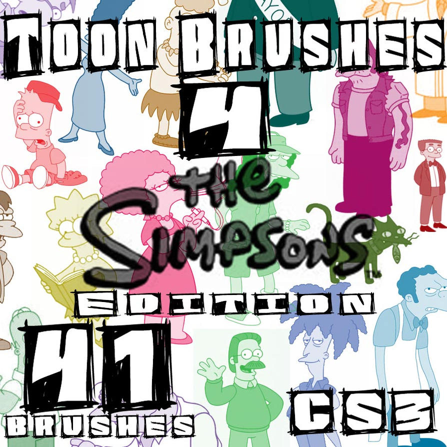 Toon Brushes4 Simpsons Edition by muutus
