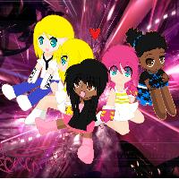 Dream Fighters: Main Girls by CutieCrittersIsland