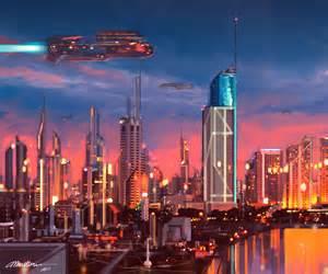 Distant future by Velisren