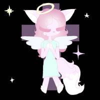God angel (gif) by CrossPastelRose