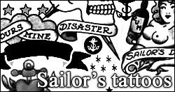 Sailor's tatoos PS brushes by foley-resources