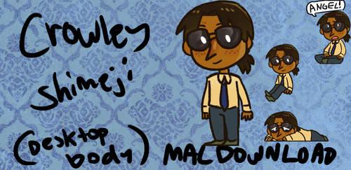 Good Omens Crowley Shimeji (mac)