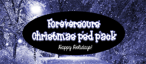 Foreversours Christmas pack by foreversours