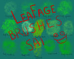 Leafage Paint Tool SAI brushes