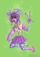 Monster girl by Chibiklompen