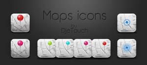 Maps icons alternatives