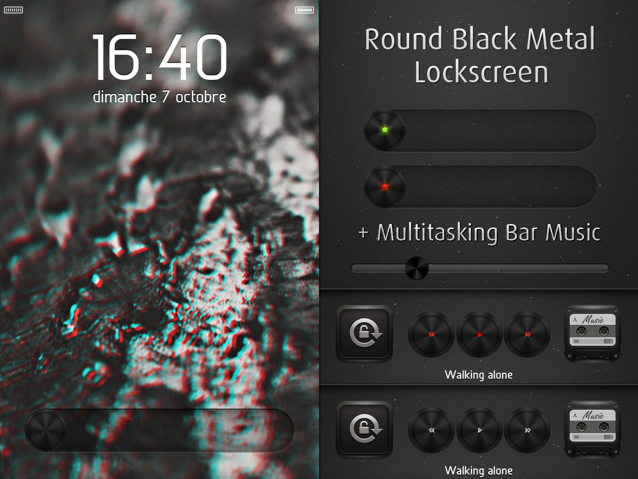 Round Black LS by DjeTouch59